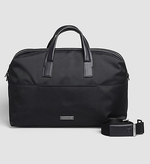 CALVINKLEIN Medium Duffle Bag - BLACK - CALVIN KLEIN WEEKEND BAGS - main image
