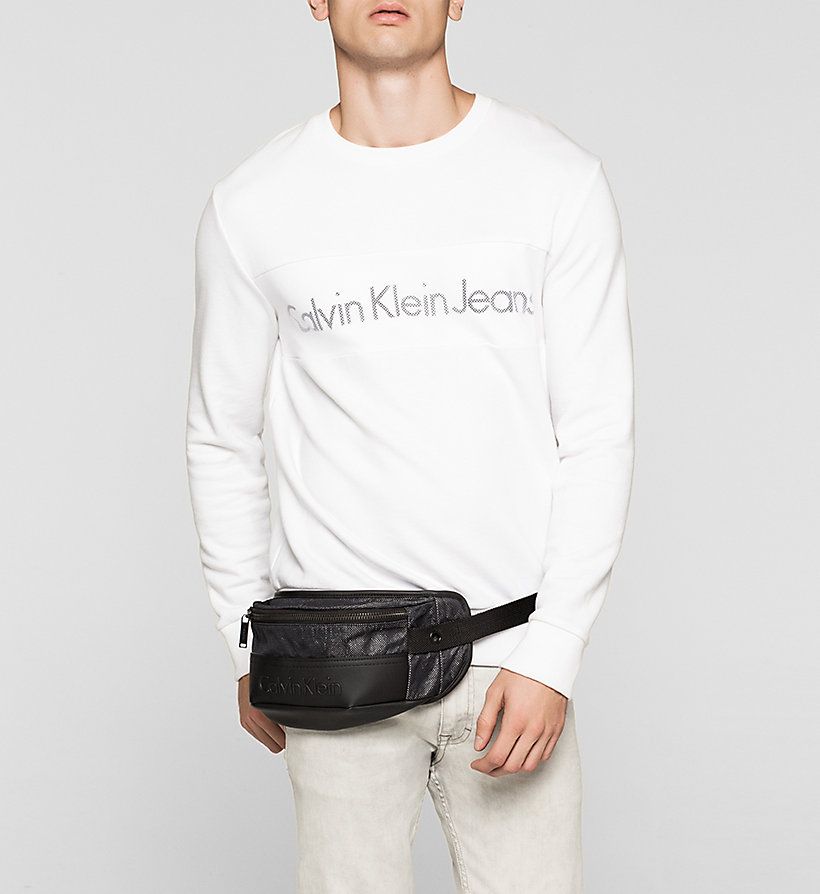 CALVINKLEIN Crossover Waistbag - BLACK - CALVIN KLEIN SHOES & ACCESSORIES - detail image 1