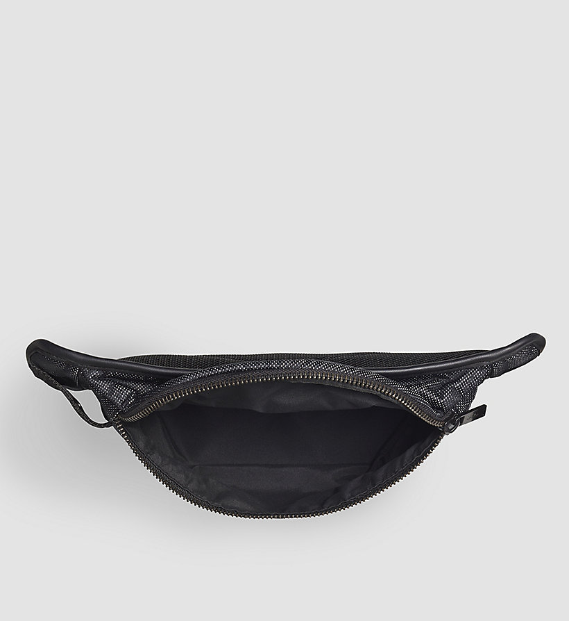 CALVINKLEIN Crossover Waistbag - BLACK - CALVIN KLEIN SHOES & ACCESSORIES - detail image 2