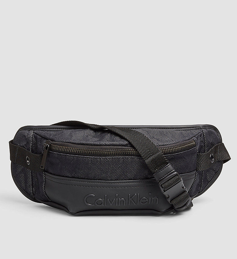 CALVINKLEIN Crossover Waistbag - BLACK - CALVIN KLEIN SHOES & ACCESSORIES - main image