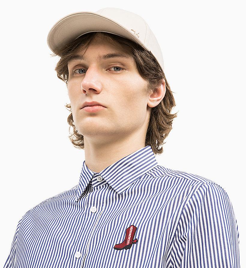 Calvin Klein - Cotton Twill Baseball Cap - 1