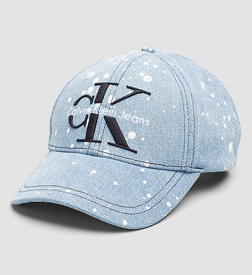 CKJEANS Denim Cap - MID BLUE DENIM - CK JEANS HATS - main image