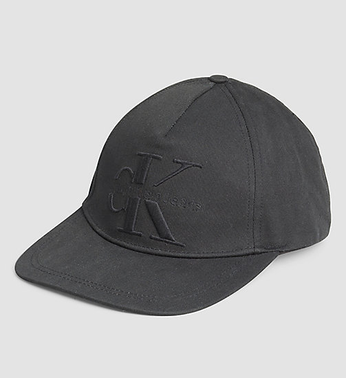 CKJEANS Embroidered Logo Cap - BLACK - CK JEANS HATS - main image