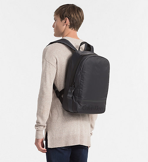CALVINKLEIN Nylon Backpack - DARK SHADOW - CALVIN KLEIN BACKPACKS - detail image 1
