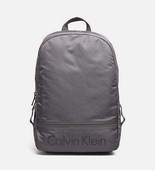 CALVINKLEIN Nylon Backpack - DARK SHADOW - CALVIN KLEIN SHOES & ACCESSORIES - main image