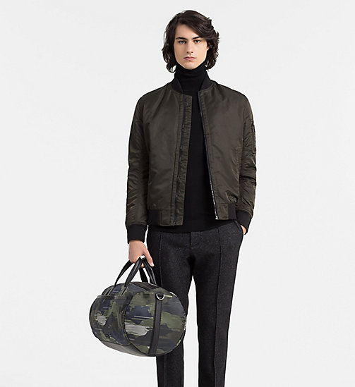 CALVINKLEIN Camo Jacquard Duffle Bag - SPEED CAMO - CALVIN KLEIN CARRIED AWAY - detail image 1