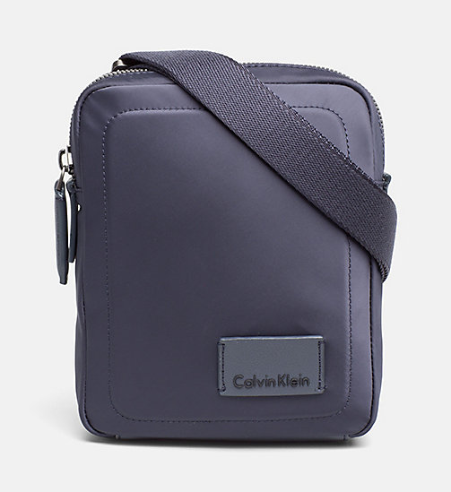 CALVINKLEIN Nylon Mini Reporter Bag - OMBRE BLUE - CALVIN KLEIN CARRIED AWAY - main image