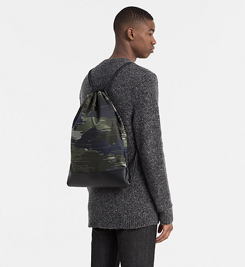 CALVINKLEIN Flat Backpack - SPEED CAMO - CALVIN KLEIN CARRIED AWAY - detail image 1