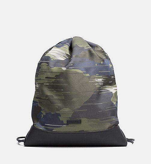 Flat Backpack - SPEED CAMO - CALVIN KLEIN SHOES & ACCESSORIES - main image
