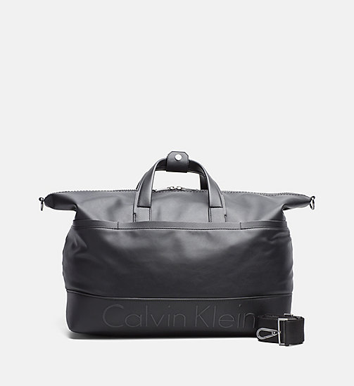 CALVINKLEIN Weekender Bag - BLACK - CALVIN KLEIN CARRIED AWAY - main image