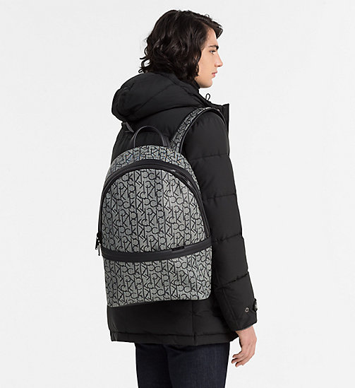 Logo Backpack - GRANITE MONOGRAM - CALVIN KLEIN SHOES & ACCESSORIES - detail image 1