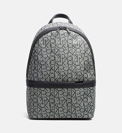 Logo Backpack - GRANITE MONOGRAM - CALVIN KLEIN SHOES & ACCESSORIES - main image