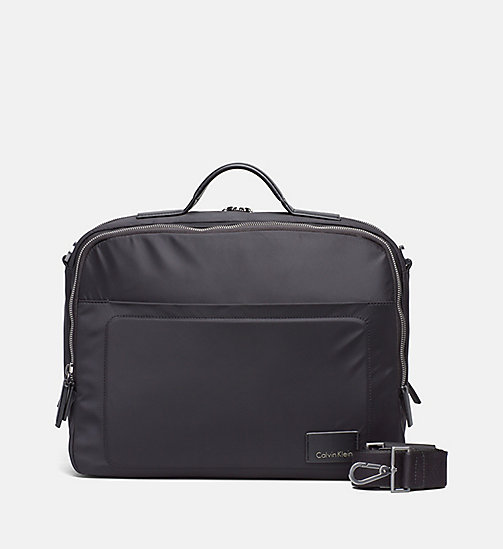 Messenger-Bag aus Nylon - BLACK - CALVIN KLEIN  - main image