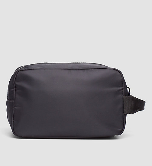 CALVINKLEIN Wash Bag - BLACK - CALVIN KLEIN NEW ARRIVALS - detail image 1