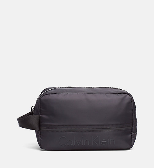 CALVINKLEIN Wash Bag - BLACK - CALVIN KLEIN NEW ARRIVALS - main image