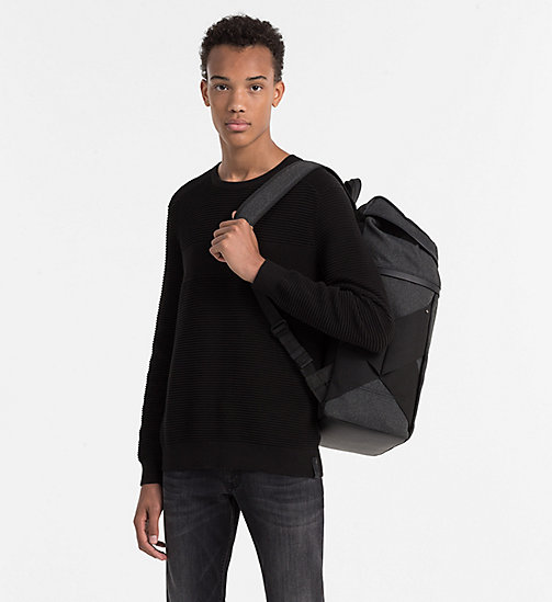 CALVINKLEIN 48 Hour Backpack - BLACK - CALVIN KLEIN ACTION-PACKED - detail image 1