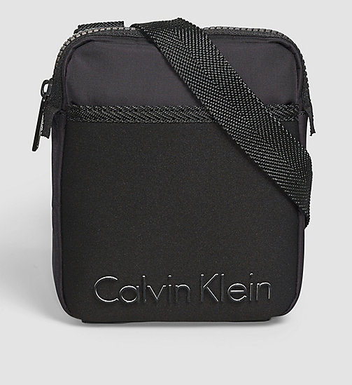 Mini Flat Crossover - BLACK - CALVIN KLEIN  - main image