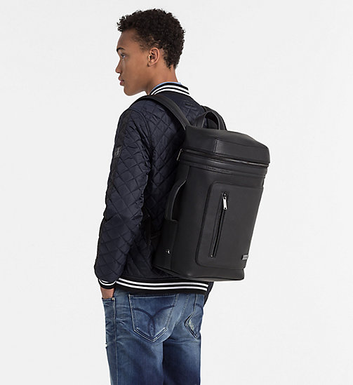 CALVINKLEIN Side Handle Backpack - BLACK - CALVIN KLEIN WORK TO WEEKEND - detail image 1