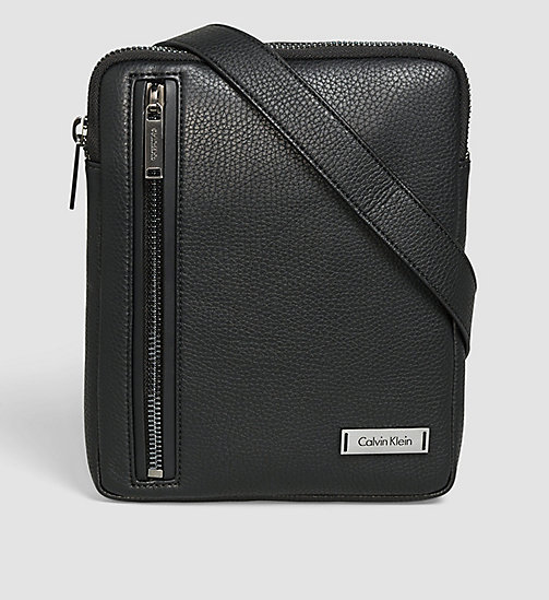 CALVINKLEIN Flache Crossover-Bag - BLACK - CALVIN KLEIN WORK TO WEEKEND - main image