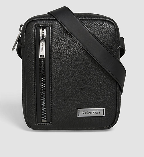 CALVINKLEIN Mini Reporter Bag - BLACK - CALVIN KLEIN GIFTS FOR HIM - main image