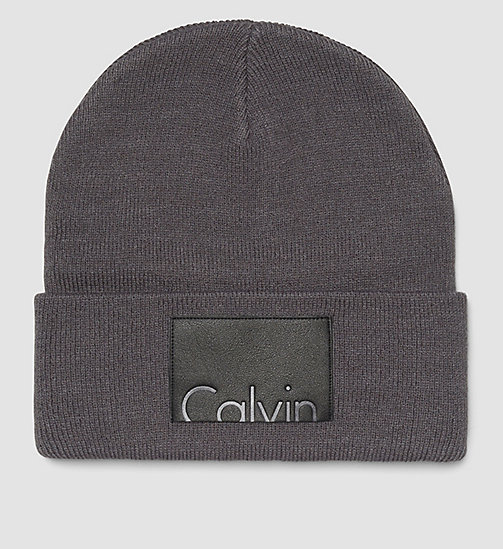 Calvin Beanie - CASTLEROCK - CALVIN KLEIN SHOES & ACCESSORIES - main image