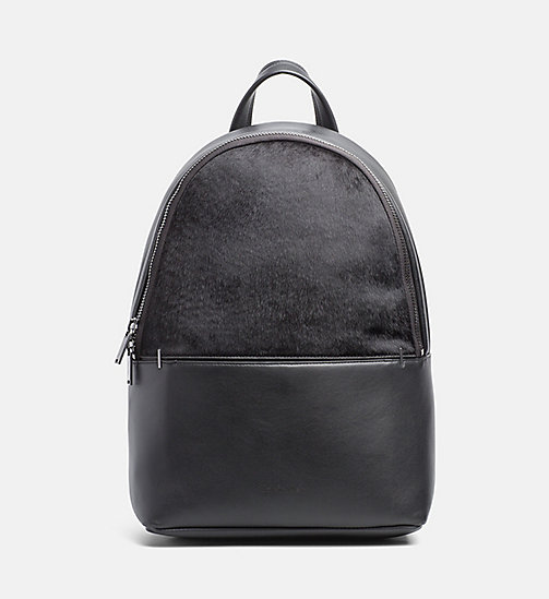 CALVINKLEIN Textured Backpack - BLACK - CALVIN KLEIN BACKPACKS - main image
