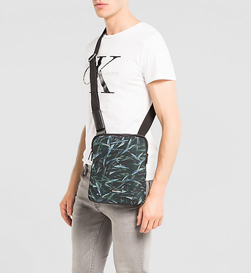 Flat Crossover Bag - JUNGLE LEAF - CALVIN KLEIN  - detail image 1