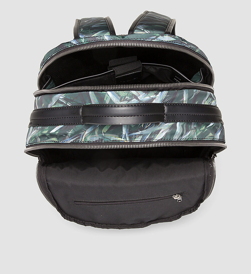 CALVINKLEIN Leaf Print Backpack - JUNGLE LEAF - CALVIN KLEIN SHOES & ACCESSORIES - detail image 2