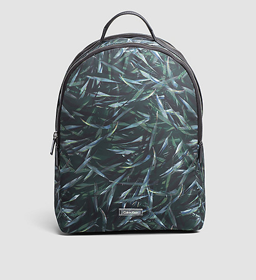 CALVINKLEIN Leaf Print Backpack - JUNGLE LEAF - CALVIN KLEIN BAGS - main image