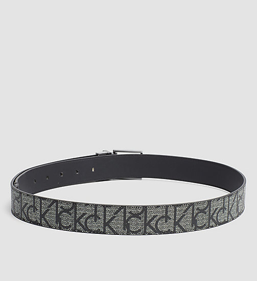 CALVINKLEIN Reversible Logo Belt - GRANITE MONOGRAM - CALVIN KLEIN NEW ARRIVALS - detail image 1