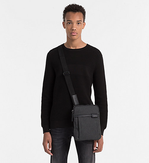 CALVINKLEIN Flat Crossover - BLACK - CALVIN KLEIN CROSSOVER BAGS - detail image 1