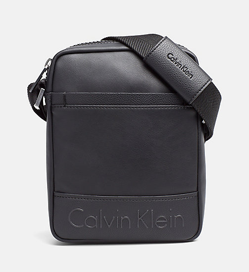 Sac reporter - BLACK - CALVIN KLEIN CHAUSSURES & ACCESSOIRES - image principale