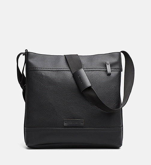 CALVINKLEIN Carry-All Messenger Bag - BLACK - CALVIN KLEIN SHOES & ACCESSORIES - main image