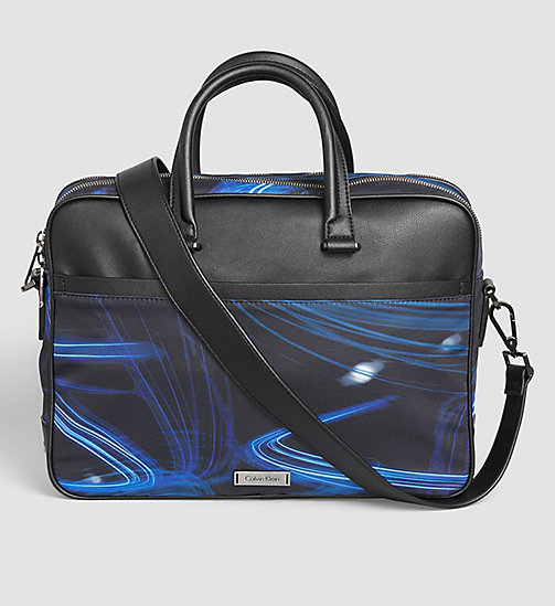 CALVINKLEIN Printed Laptop Bag - MOTION PRINT - CALVIN KLEIN  - main image