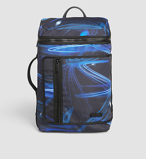 Printed Side Handle Backpack - MOTION PRINT - CALVIN KLEIN SHOES & ACCESSORIES - main image