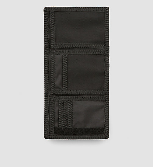 CALVINKLEIN Trifold Wallet - BLACK - CALVIN KLEIN SHOES & ACCESSORIES - detail image 1
