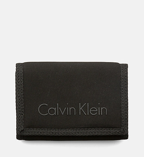 CALVINKLEIN Trifold Wallet - BLACK - CALVIN KLEIN SHOES & ACCESSORIES - main image