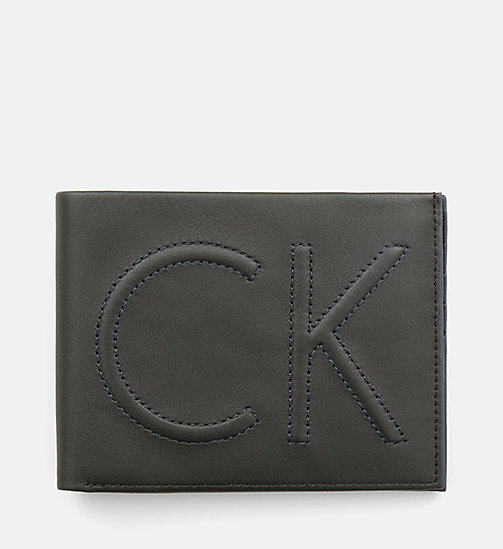 Leather Wallet - BLACK - CALVIN KLEIN SHOES & ACCESSORIES - main image