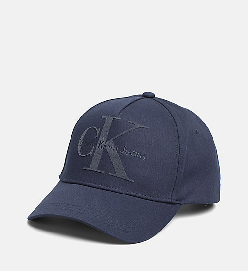 CALVIN KLEIN JEANS Baseball Cap - NIGHT SKY - CALVIN KLEIN JEANS HATS, SCARVES & GLOVES - main image