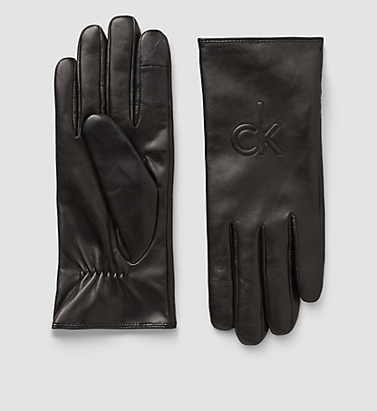CALVIN KLEIN Leather Gloves - Standalone K60K601300001