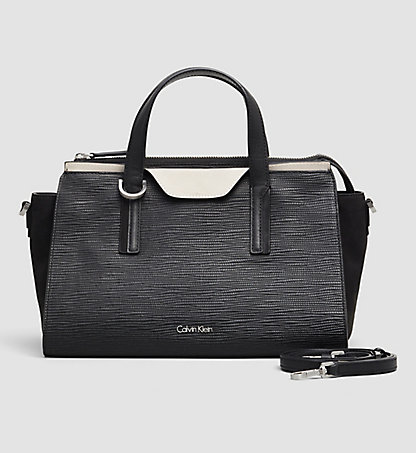 CALVIN KLEIN Leather Duffle Bag- Lisa K60K601611001