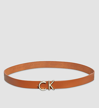 CALVIN KLEIN Leather Belt K60K601620224