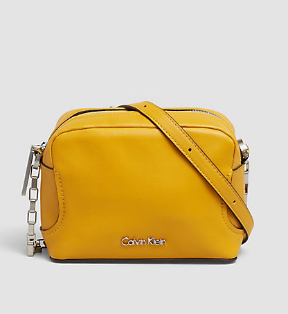 CALVIN KLEIN Mini-Crossover-Bag aus Leder - Carolyn K60K602057704