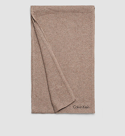 CALVIN KLEIN Virgin Wool/Viscose Blend Scarf - Emma K60K602073094