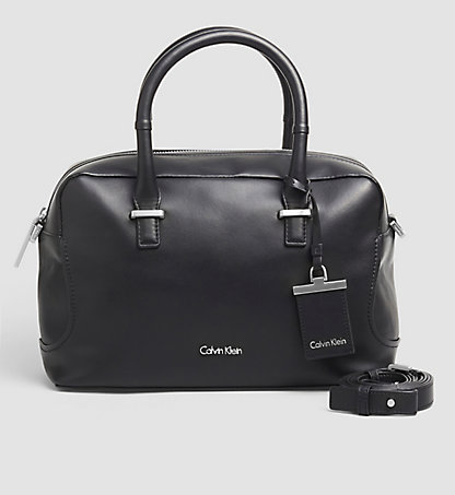 CALVIN KLEIN Leather Duffle Bag - Carolyn K60K602078001