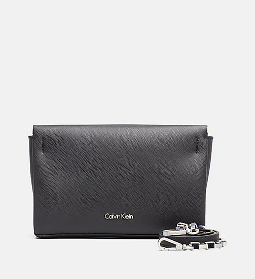 Crossover Clutch - BLACK - CALVIN KLEIN SHOES & ACCESSORIES - main image