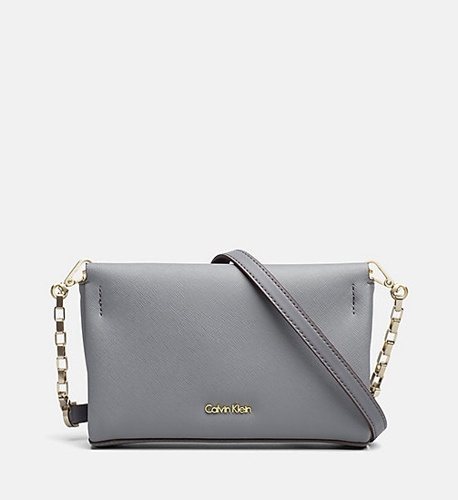 CALVINKLEIN Crossover clutch - STEEL GREY - CALVIN KLEIN CARRIED AWAY - main image