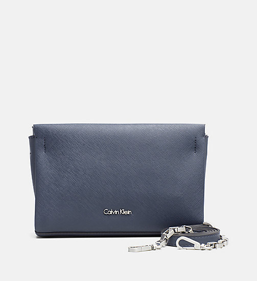 CALVINKLEIN Crossover clutch - BLUE NIGHT - CALVIN KLEIN CARRIED AWAY - main image