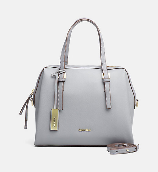 Medium Satchel - STEEL GREY - CALVIN KLEIN  - main image