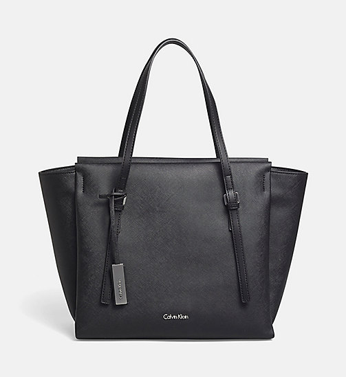 CALVINKLEIN Large Tote Bag - BLACK - CALVIN KLEIN CARRIED AWAY - main image
